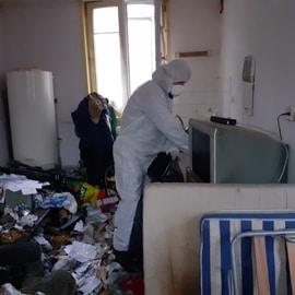 Action nuisible débarras maison