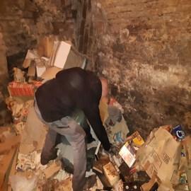 Professionnel du débarras de maison